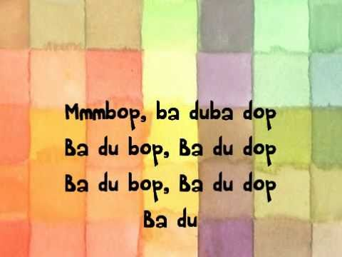 Hanson - MMMBop (Long Version) Lyrics | MetroLyrics