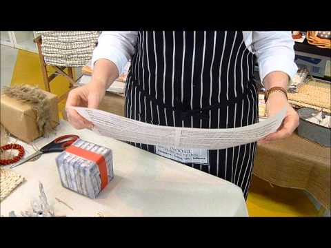 Using Sheet Music to Wrap Gifts