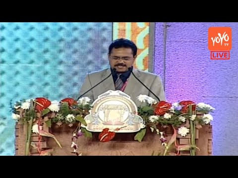TS Tourism Secretary Burra Venkatesham Speech at World Telugu Conference | #Hyderabad | YOYO NEWS24