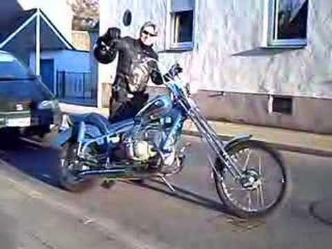 Bmw Chopper 2008 Custom Bike Rolf Blenn Youtube