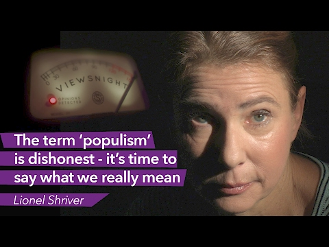 Lionel Shriver: Why the term