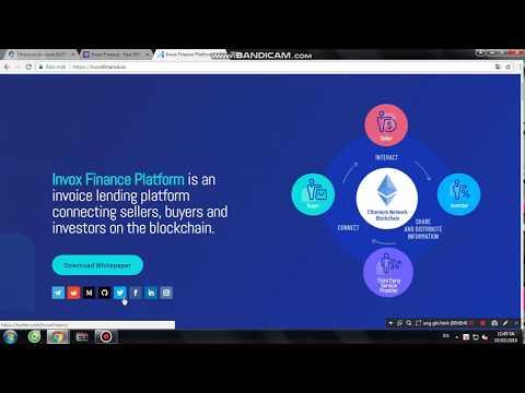 Airdrop Form Invox Finance ( 07/02/2018 )