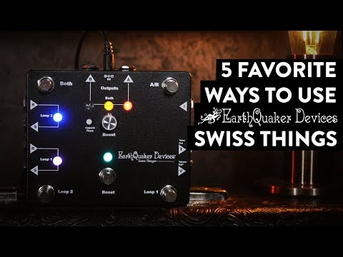 EarthQuaker Devices Swiss Things Pedalboard Reconciler Demo - in stereo Mp3