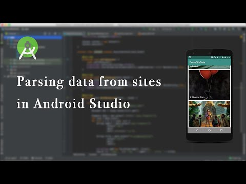 Parse Data From Sites  To RecyclerView Using Jsoup | Android Studio - Part 1