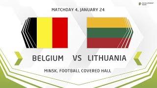 Development Cup - 2018. Belgium - Lithuania