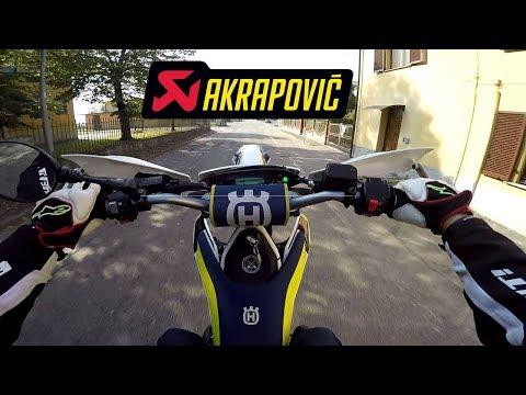 SUPERMOTO RAW - HUSQVARNA 701 AKRAPOVIC PURE SOUND