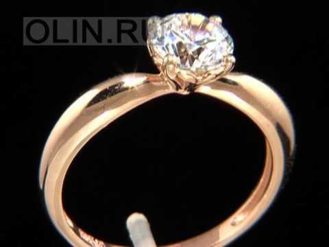 Набор из серебра с золотом (кольцо, серьги и подвеска) и фианитом (арт. 230ц)