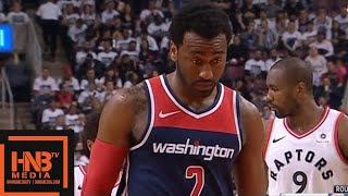 Toronto Raptors vs Washington Wizards 1st Half Highlights / Game 2 / 2018 NBA Playoffs