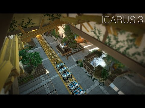 "Planet Coaster - Icarus [PART 3] ""Station Theming & Detailing"""