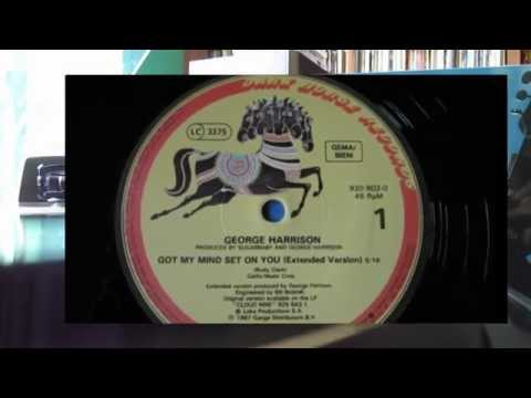 "George Harrison ""Got My Mind Set On You""- Extended,  Vinyl 45 RPM"