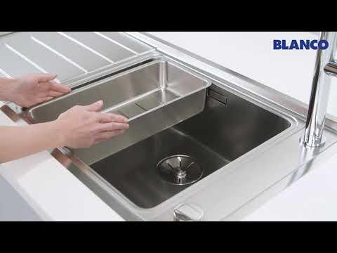 Мойки для кухни BLANCO ANDANO из нержавеющей стали