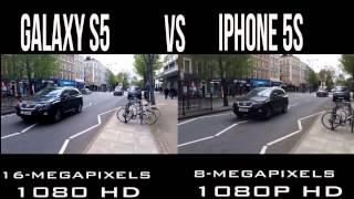 samsung galaxy s5 vs iphone 5s camea test