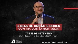 2 Dias de Unção e Poder - Ap. Don Lynch
