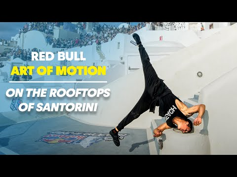 Freerunning on the Rooftops of Santorini - Red Bull Art of Motion