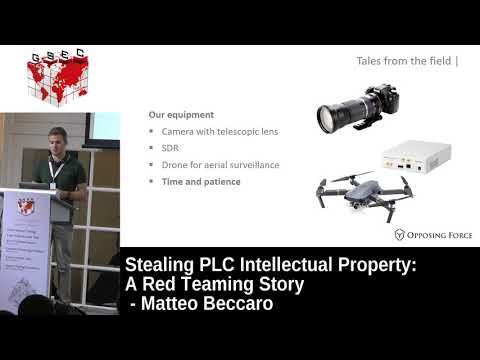 #HITBGSEC 2017 CommSec D2 - Stealing PLC Intellectual Property: A Red Teaming Story - Matteo Beccaro