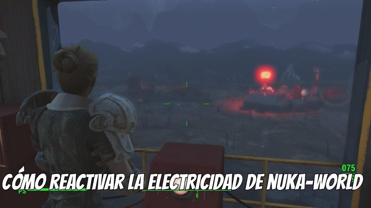Fallout 4 Nuka-World - Cómo activar la Electricidad de Nuka-World ...