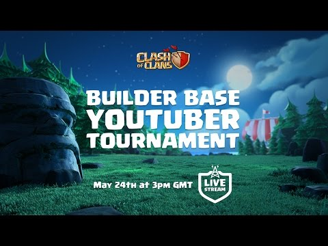 Thumbnail: Clash of Clans - Builder Base Tournament! (Update stream)