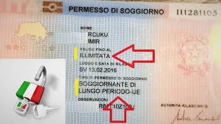 Permis de séjour CE et permis de séjour UE