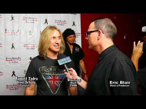 Dennis De Young's August Zadra & Eric Blair talk Dennis De Young 2017