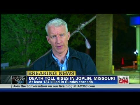 CNN: Sirens sound in Joplin during live CNN broadcast