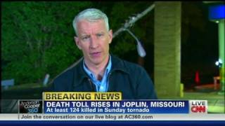 CNN: Sirens sound in Joplin during live CNN broadcast