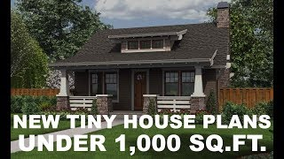 Adorable New Tiny House Plans | Direct From The Designers
