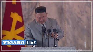 🔴Corée du Nord: Kim Jong-un verse une larme lors des 75 ans du régime