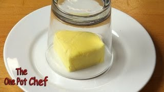 Quick Tips: Softening Butter in Moments | One Pot Chef thumbnail