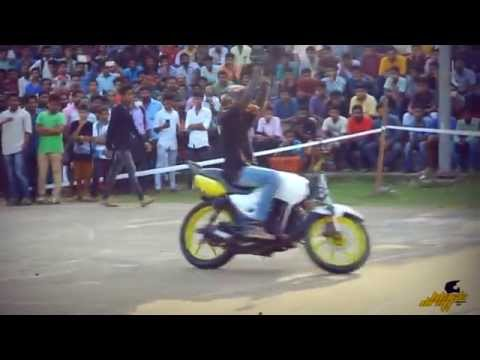 BlackDraft bike stunt@ Kunnamkulam Roadiez Show