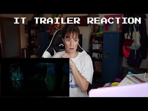 IT Official Trailer 1 | REACTION