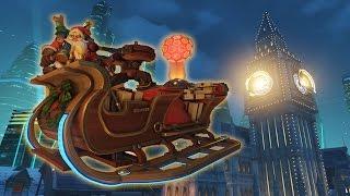 [Overwatch] Santa Torbjörns DEADLY Sleigh!