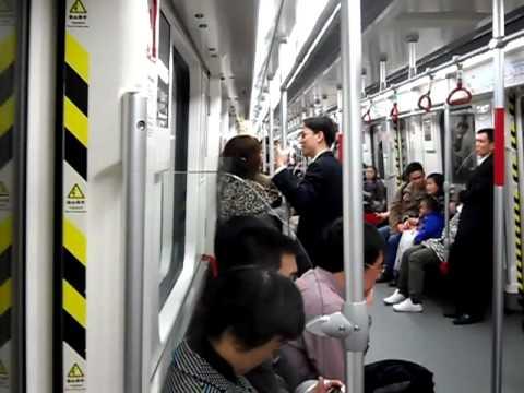 廣州地鐵三號線機場南方向 Guangzhou metro Line 3