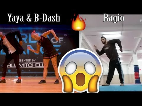 Jaja Vankova & B-Dash @ World of Dance Performance No Crowed