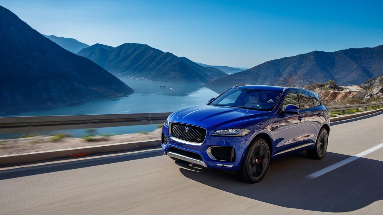 Road Test 2017 Jaguar F Pace Top Performance - YouTube