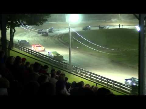 Crate Late Model Feature | Little Valley Speedway | 5-25-14