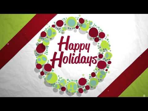Happy Holidays National NBC/Telemundo Graphics Package (English)