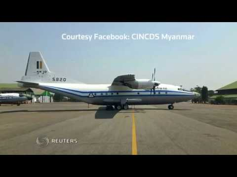 Myanmar army plane goes missing over the Andaman Sea