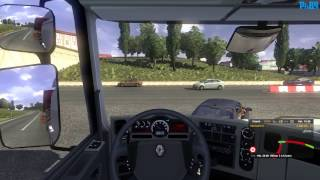 Euro Truck Simulator 2 v1.14.2.2s Gameplay: Budapest - Bratislava [Maxed out, 1080p] (PC HD)