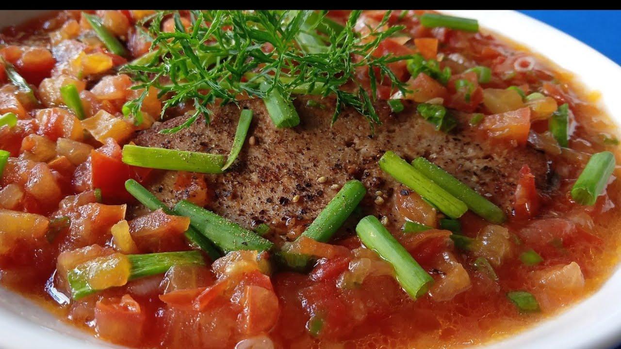 CÁ THU SỐT CÀ CHUA  CHAY món chay ngon mỗi ngày l Thanh cooking