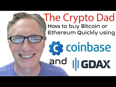 How to Purchase Bitcoin or Ethereum Quickly Using Coinbase & GDAX