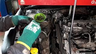 Замена ГРМ Mazda 2.0 ( RF7J ) Как я убил очень надежный мотор / Оживление Mazda 6 (часть 2)
