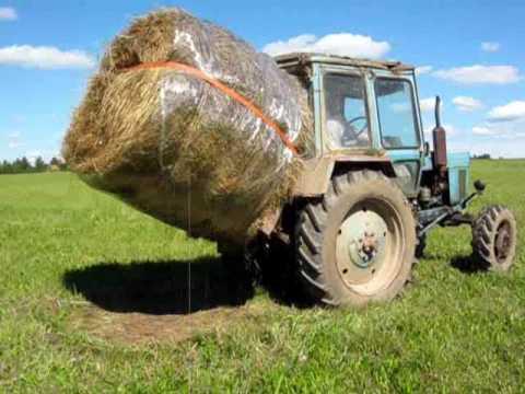 Как сохранить сено в рулонах под открытым небом