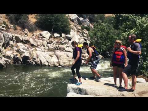 Rafting at Kern river