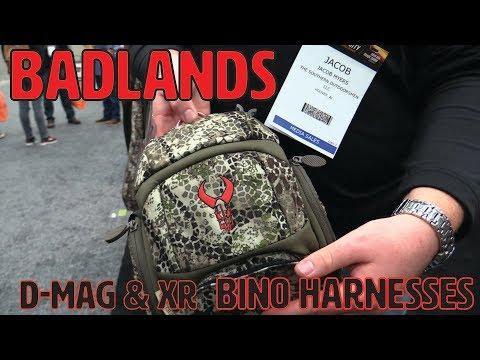 BADLANDS D-MAG & XR BINO HARNESSES - 2019 ATA SHOW