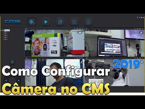 PROGRAMA CMS CLIENT CÂMERA IP ACESSO E LOGIN PASSO A PASSO