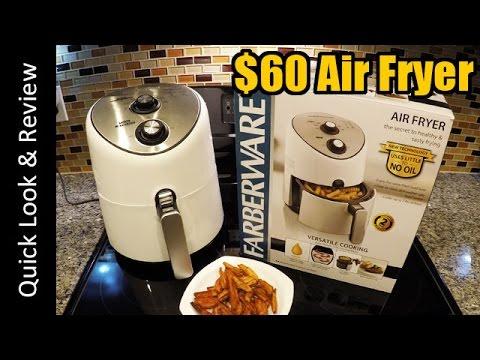 Farberware Air Fryer 2.5L/2LB: 1st look & Review (philips ...