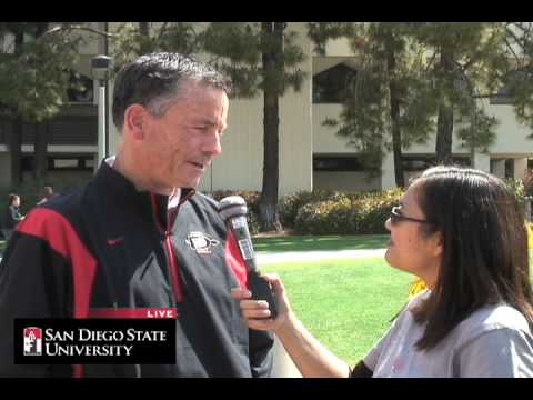 SDSU Live: Interview with Brian Sipe SDSU Quarterbacks Coach