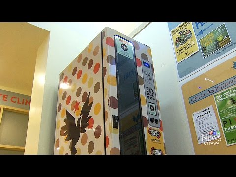 Clean needle vending machines may soon be coming to Ottawa