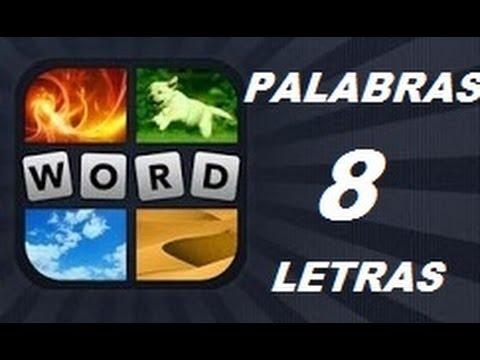 Soluciones de 8 Letras - Niveles 1 a 961 - 4 Fotos 1 Palabra. Ver descripción! Android, iPhone, iOS