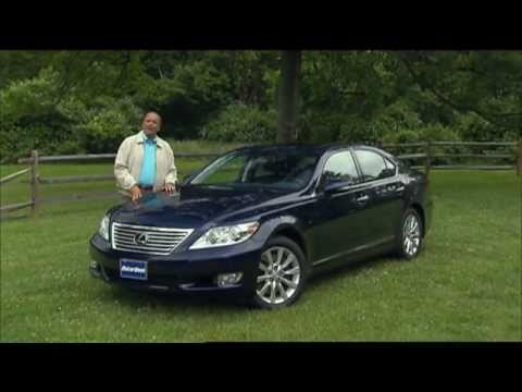 MotorWeek Road Test: 2010 Lexus LS-460 Sport - YouTube